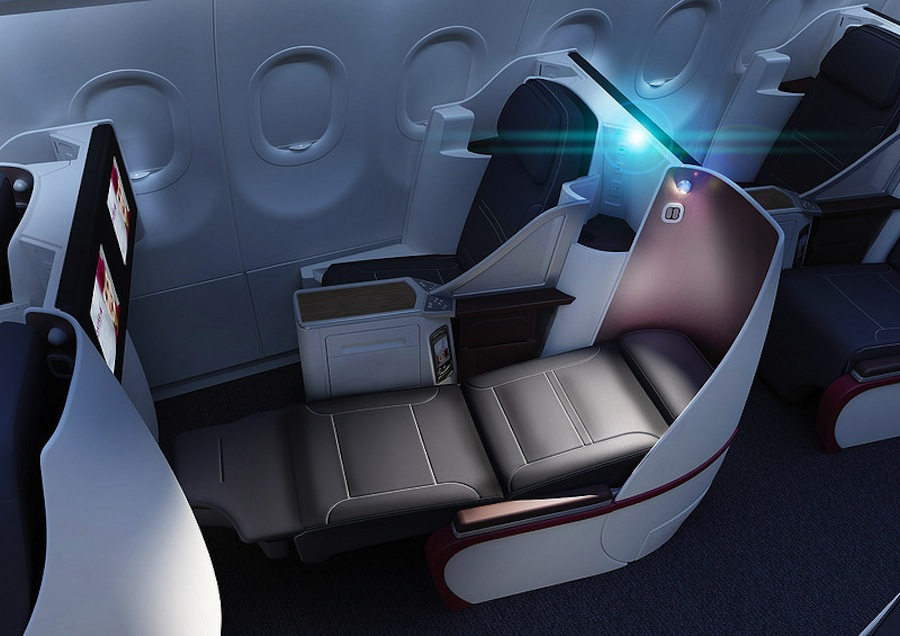 The inflight Oryx entertainment system features over 1000 choices of movies, music, and games.