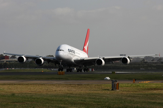 Qantas is upgrading to a A380 for its Sydney-Hong Kong route.