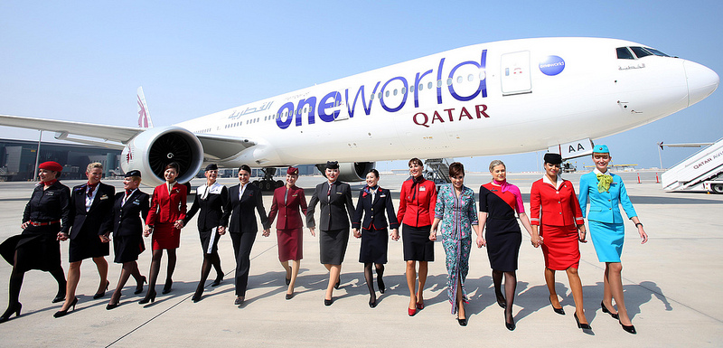 Qatar Airways is the latest member of the oneworld alliance and the first Gulf carrier to join.