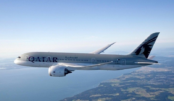 Qatar Airways's Boeing 787 Dreamliner