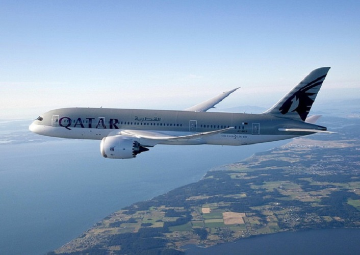 Qatar Airways's Boeing 787 Dreamliner services routes to Haneda.