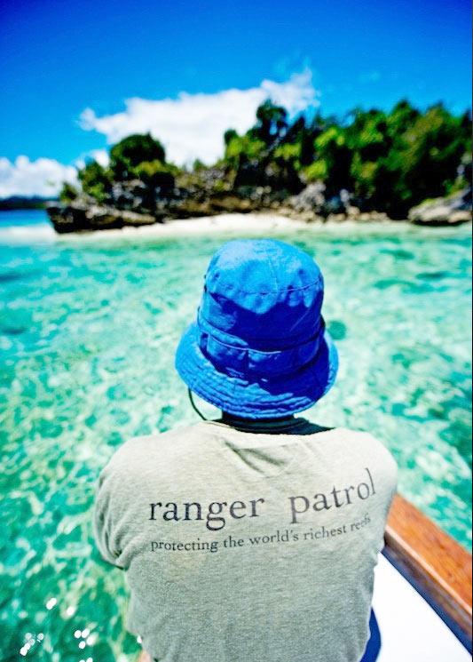 Misool Eco Resort patrols its own waters.