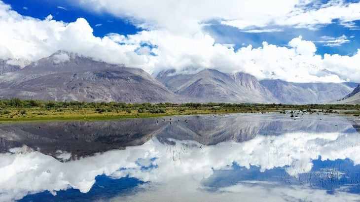 Reflections in the Indian Himalayas