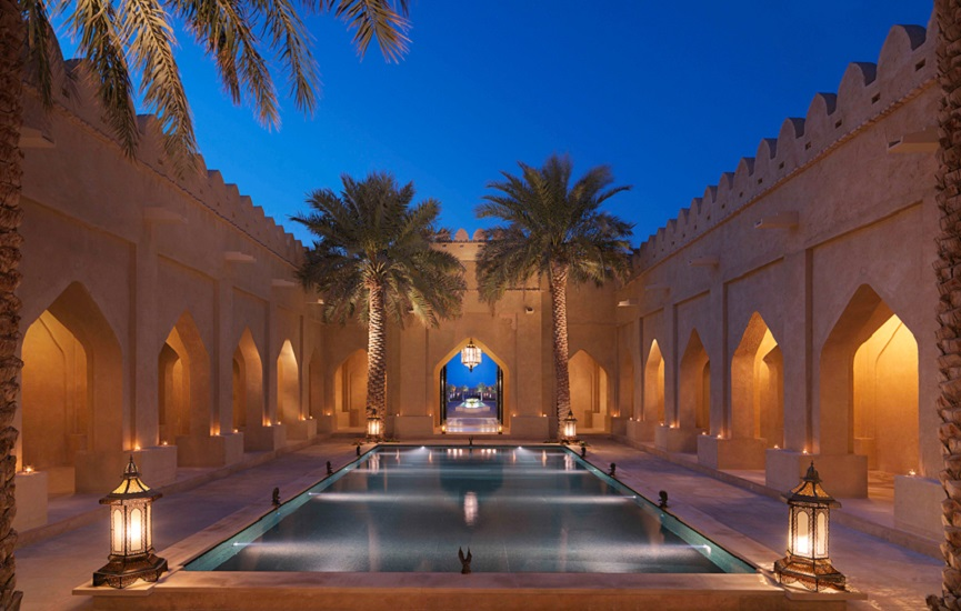 The Anantara Royal Pavilion Villas by Qasr Al Sarab.
