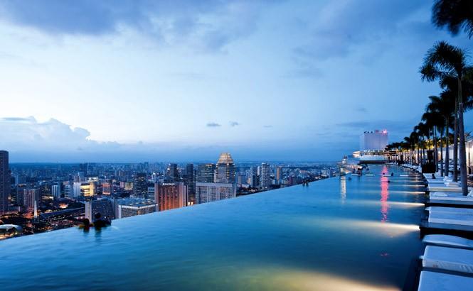 The Beautiful View from atop Marina Bay Sands | DestinAsian