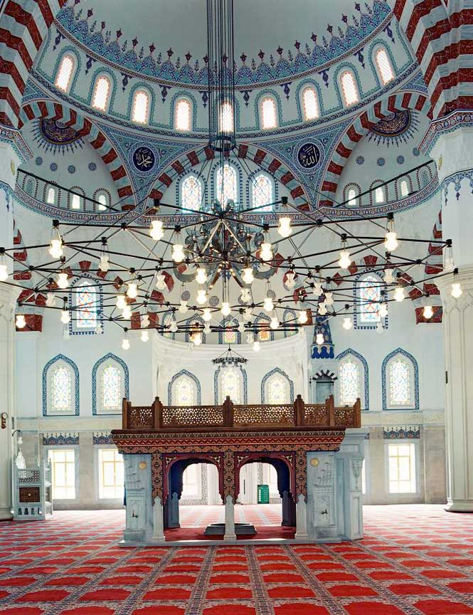 Ashgabat's Azadi Mosque.