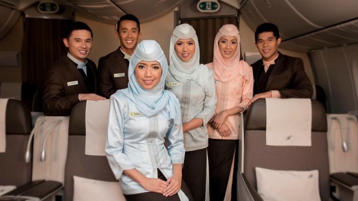 Royal Brunei Flight Attendants