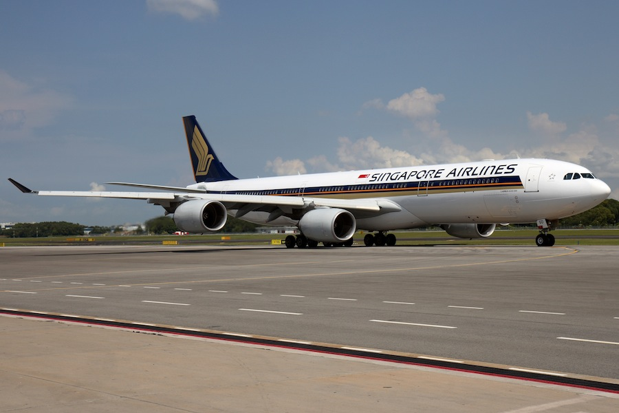 Singapore Airlines will ground their A340 planes in favor of the A350.