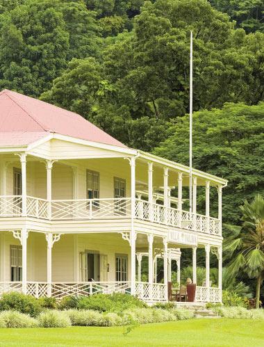 Villa Vailima.