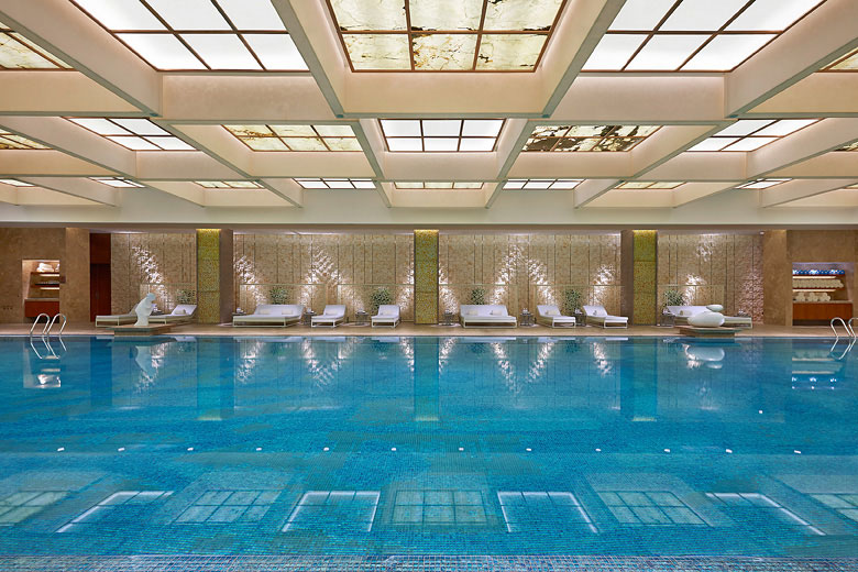 The property includes a 25-meter swimming pool.