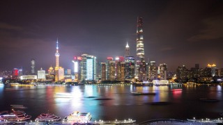 Pudong and The New Shanghai Tower