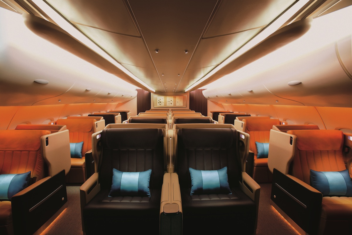 Business class passengers can now enjoy Taittinger champagne.