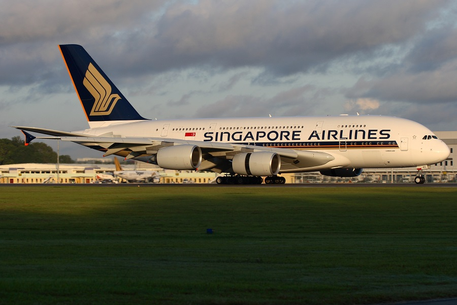 Singapore Airlines' A380s boast the largest aircraft flat-screens.