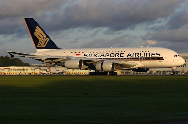 Singapore Airlines' A380.