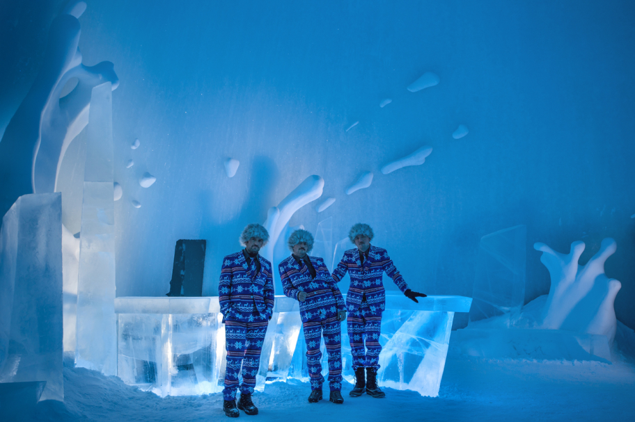 Bartenders at Icehotel's IceBar,