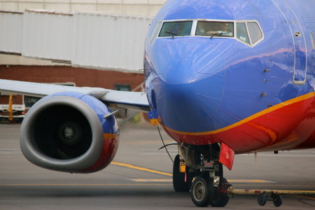 The majority of Southwest's fleet is equipped with satellite wireless service.