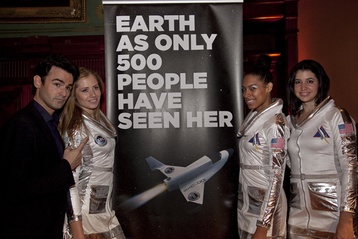 The launching of Space Expedition Corporation's commercial program in New York. Photo courtesy of Spacexc.