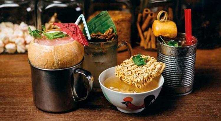 Jio You Cocktail Club will serve D'Bandung, Seah Street Power Nasi Lemak, Shrimps & Giggles (Har Har) and Crab Those Buns.