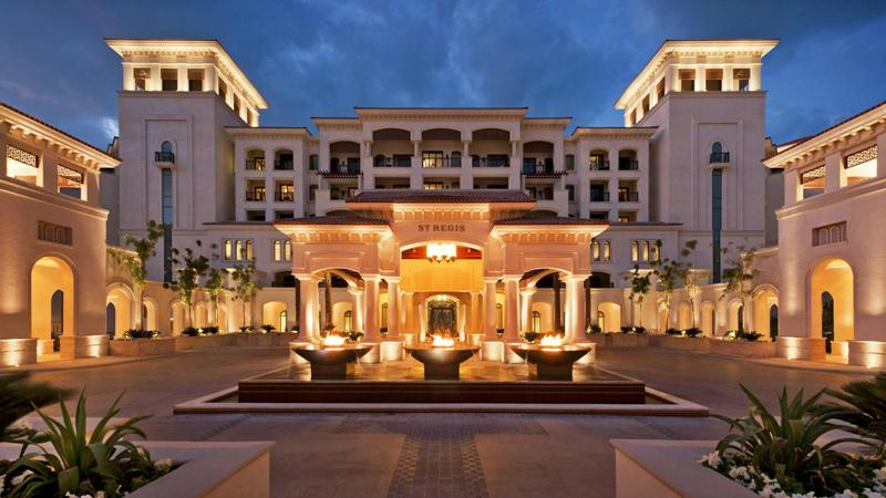 The St. Regis Saadiyat Island Resort has unveiled the largest hotel suite in the UAE.