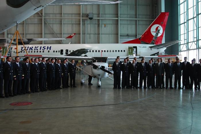Turkish Airline's flight academy.