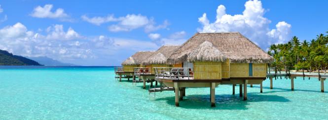 Tahaa's overwater bungalow.