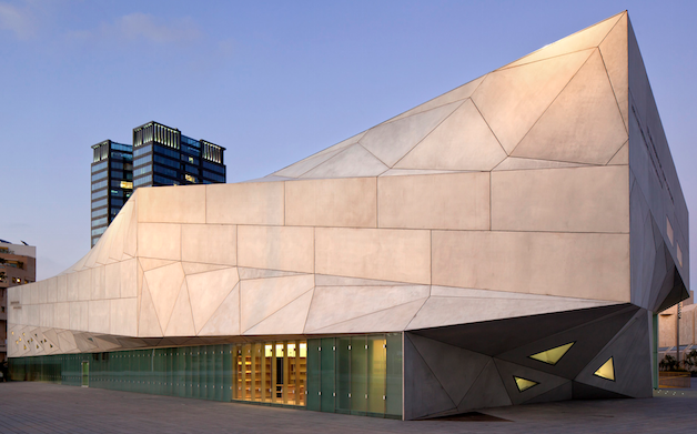 The Tel Aviv Museum's new Amir building.