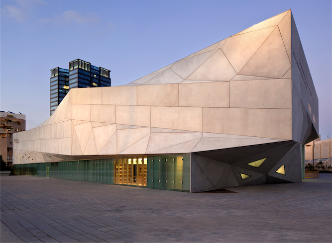 The Tel Aviv Museum of Art's new Amir building.