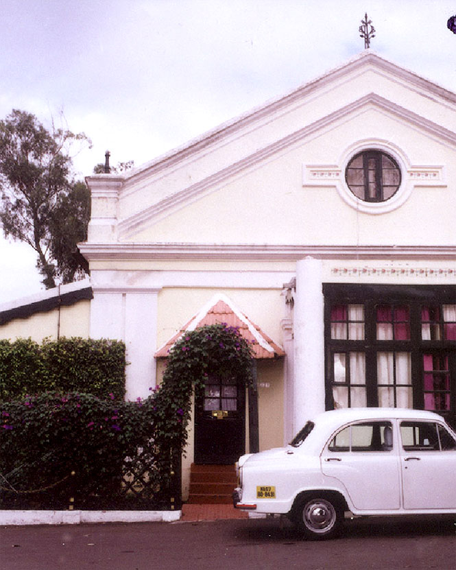 In Ooty, the Savoy hotel's main building dates to the early years of the hill station.