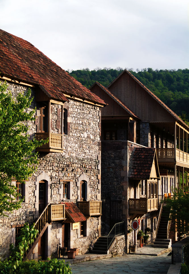The Tufenkian Heritage complex in Dilijan.