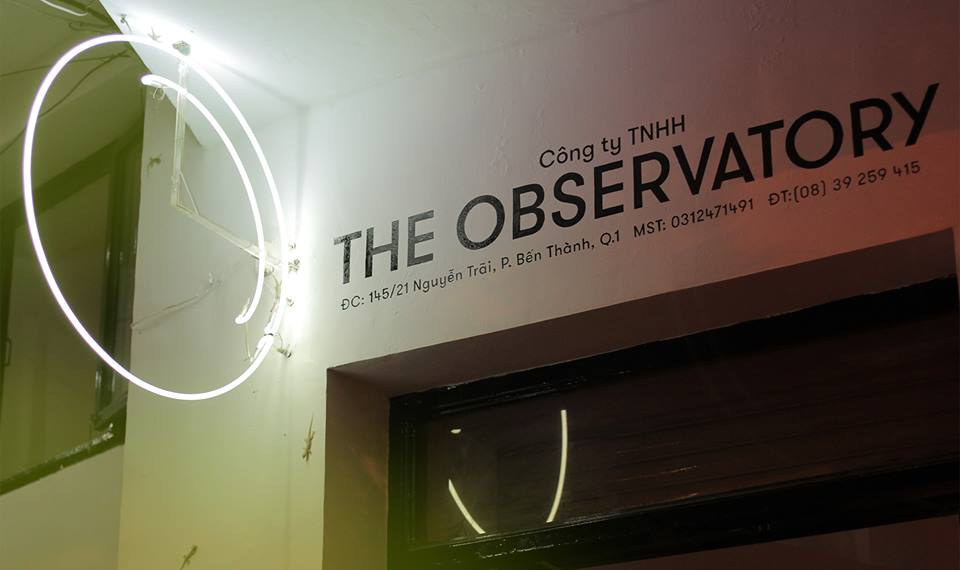 The Observatory front.