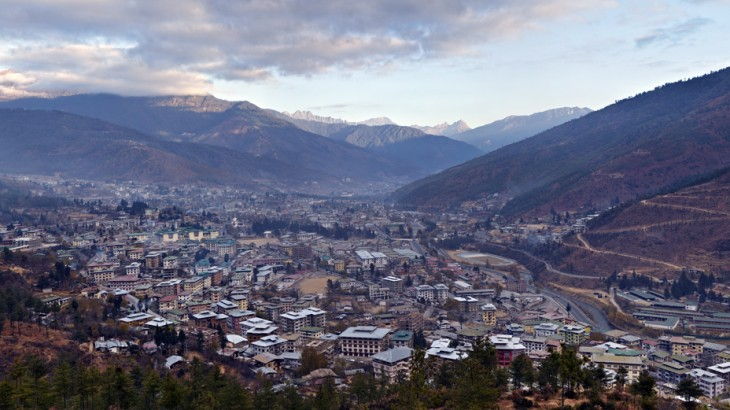 Thimpu from Kuensel Phodrang Hill