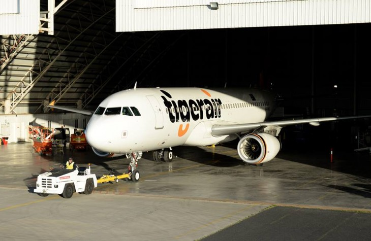One of Tigerair's fleet.