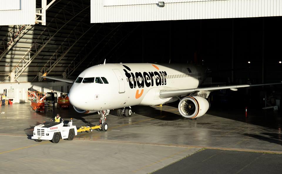One of Tigerair's fleet.