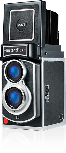 TL70 is what could be the most retro-looking instant camera.