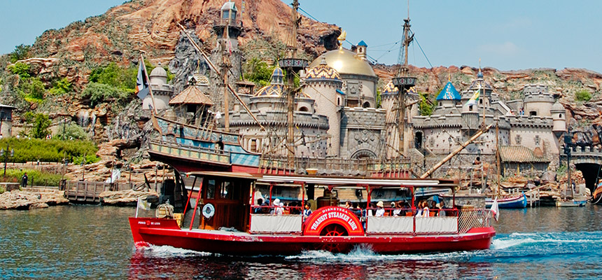 Port of Discovery in Disney Sea.