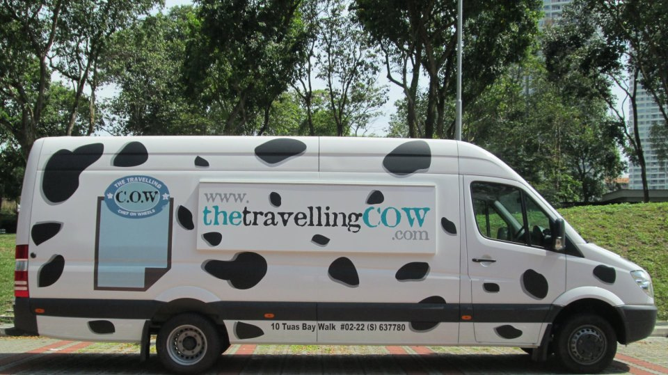 The ramen burgers proved so popular that the Travelling COW will start serving them on its regular menu.