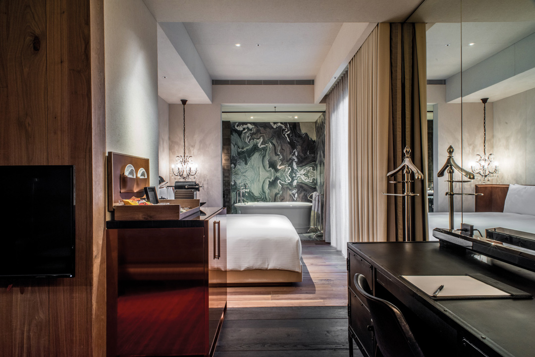 The Urban Room at Hotel Proverbs Taipei.