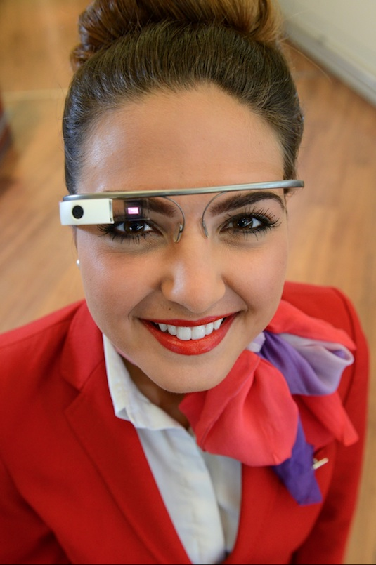 Virgin Atlantic is launching a six-week trial with Google Glass.
