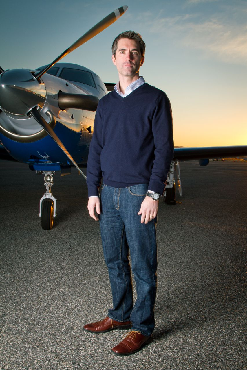 CEO and founder of Surf Air, Wade Eyerly.