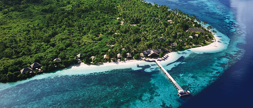 Bird's Eye view of Wakatobi.