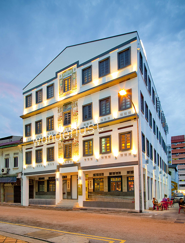 The Wanderlust hotel in Singapore's Little India.