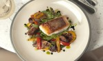 Sustainably sourced red snapper