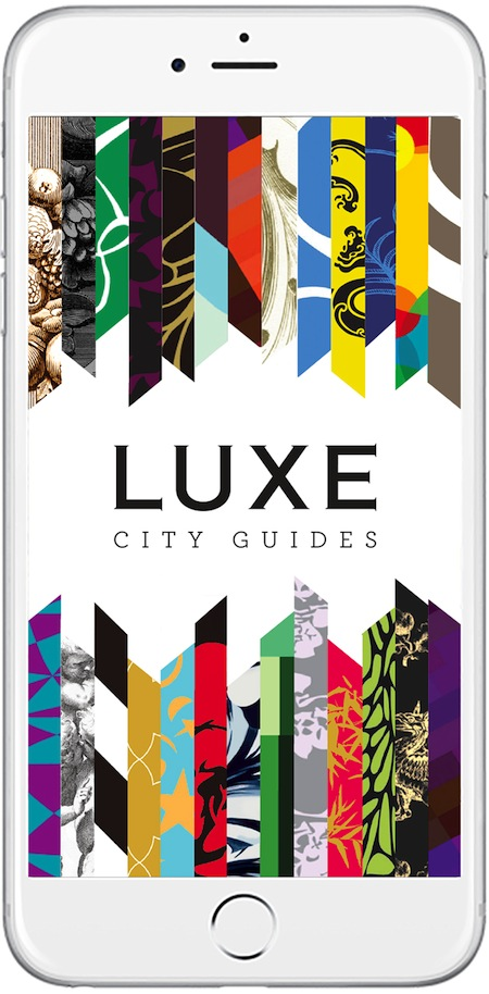 Luxe City Guides has re-worked its renowned guidebooks into app form.
