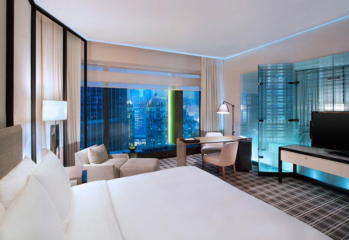 The hotel boasts 317 rooms and suites, crafted by Yabu Pushelberg.
