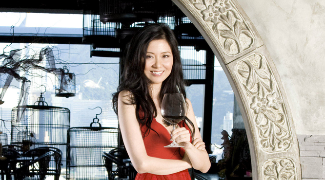 Wine expert Jeannie Cho Lee.