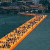 A Floating Art Installation in Italy's Iseo Lake