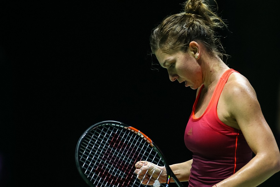 Simona Halep currently places second in WTA's women's singles rankings.