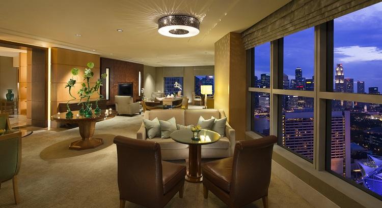 The Executive Lounge at Conrad Centennial Singapore.