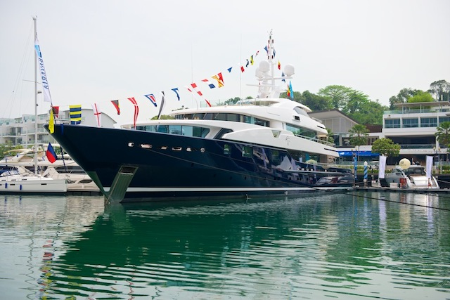 Princess Yachts SEA is the show's biggest exhibitor.