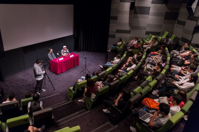 A meet and greet session at  Hong Kong Summer Film Festival